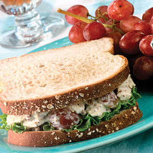 Homemade Chicken Salad SandwichesRecipe