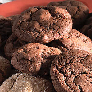 Chocolate Chocolate Chip CookiesRecipe