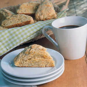 Cornmeal Scones With Sage And CheddarRecipe