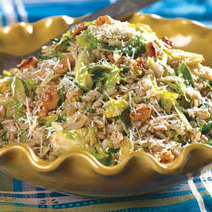 Barley And Brussels SproutsRecipe