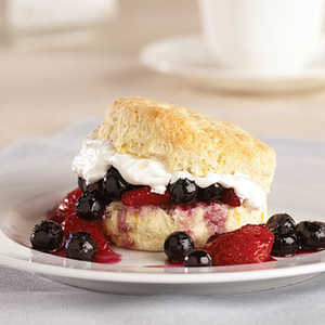 Lemon-Berry ShortcakesRecipe