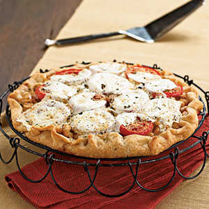 Hearty Tomato PieRecipe