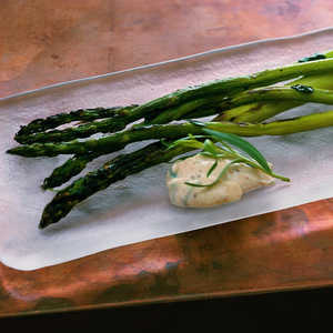 Grilled Asparagus with Orange Dipping SauceRecipe