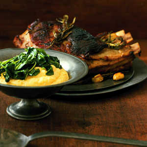 Pan-Roasted Veal with Rosemary and GarlicRecipe