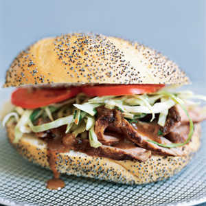 Pork Tenderloin Sandwiches with Cilantro SlawRecipe