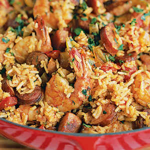 Shrimp and Sausage Jambalaya Recipe
