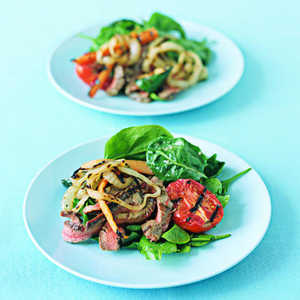 Grilled Flank SteakRecipe