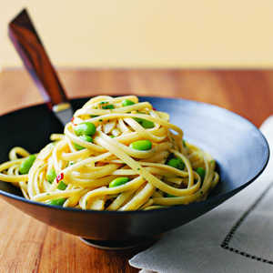Linguine with Garlic and SoyRecipe
