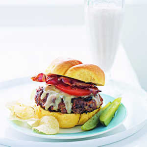 Turkey Meat Loaf BurgersRecipe
