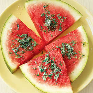 Watermelon Slices with Mint and Lime Recipe