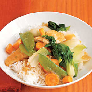 Cantonese Chicken with Vegetables Recipe