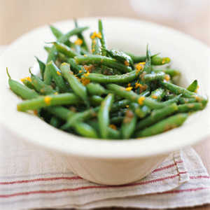 Green Beans with Caramelized Onion VinaigretteRecipe