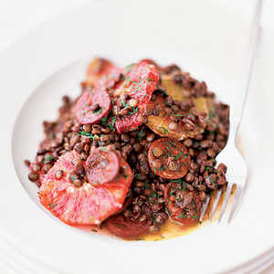 Lentil Stew with OrangesRecipe