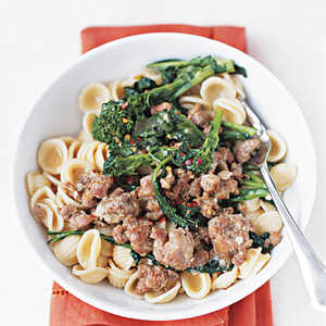 Pasta with Broccoli Rabe and SausageRecipe