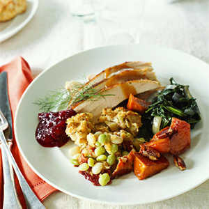 Turkey with Molasses Butter Recipe