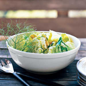Butter Lettuce and Herb SaladRecipe