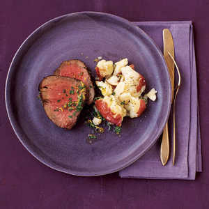 Beef with Parmesan PotatoesRecipe
