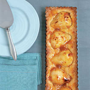 Pressed-Crust Pear Tart Recipe