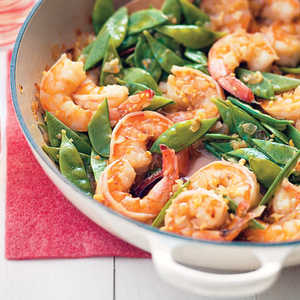 Gingery Shrimp and Couscous Recipe