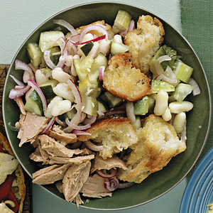 White Bean and Tuna PanzanellaRecipe