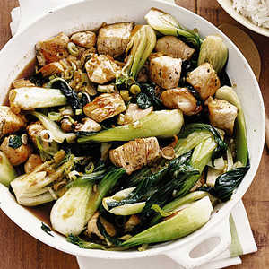 Chicken and Bok Choy Stir-FryRecipe
