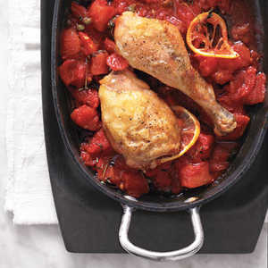 Chicken with Tomatoes and ThymeRecipe