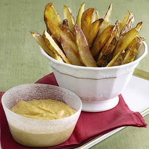 Oven Fries with Garlic AioliRecipe
