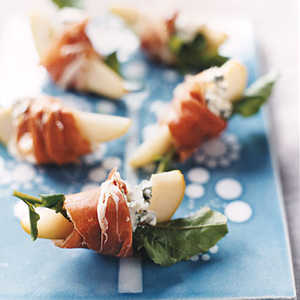 Pears with Blue Cheese and ProsciuttoRecipe