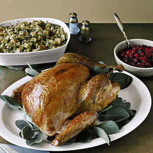 Roasted Turkey with SageRecipe