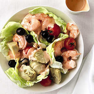 Shrimp, Artichoke, and Olive SaladRecipe