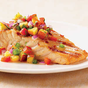 Salmon with Nectarine SalsaRecipe