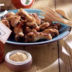 Honey Chicken WingsRecipe