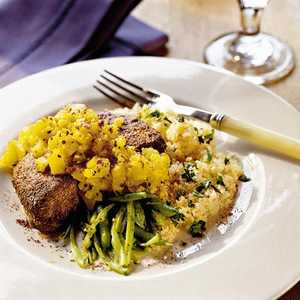 Pork Chops with Warm Pineapple SalsaRecipe