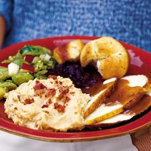 Baked Sweet-and-Savory Mashed PotatoesRecipe