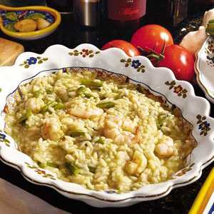 Risotto with Shrimp and AsparagusRecipe