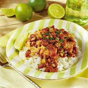 Spicy Beans with Coconut MilkRecipe