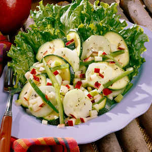Apple-And-Zucchini SaladRecipe
