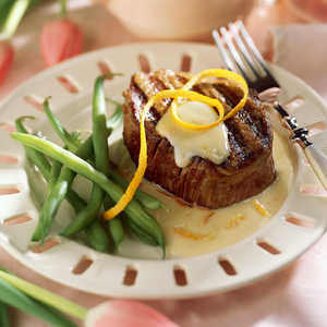 Beef Fillets with Orange CreamRecipe
