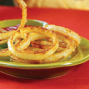 "Beer-battered ""Fried"" Onion RingsRecipe"