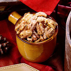 Orange-Glazed Pecans Recipe