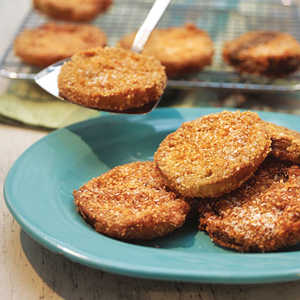 Crunchy Fried Green TomatoesRecipe