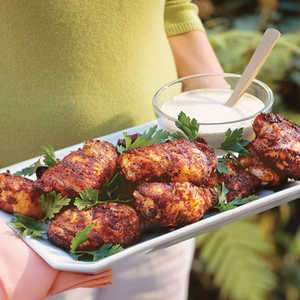Grilled Chicken With White Barbecue SauceRecipe