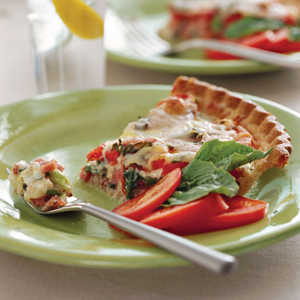 Ham-and-Tomato PieRecipe