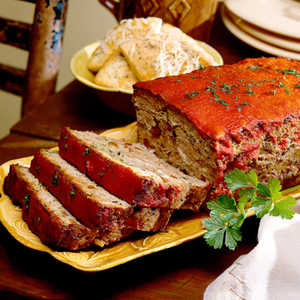 Lamb Meat Loaf with Feta CheeseRecipe