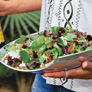 Lanny's Salad With Candied Pumpkin SeedsRecipe