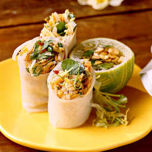 Summer Rolls With Thai Dipping SauceRecipe