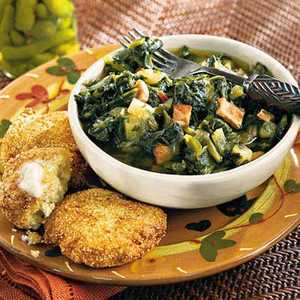 Turnip Greens Stew Recipe