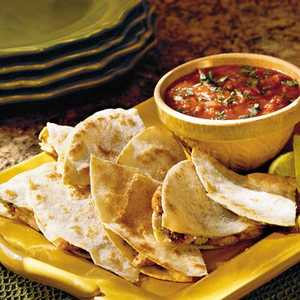 Grilled Chicken QuesadillasRecipe