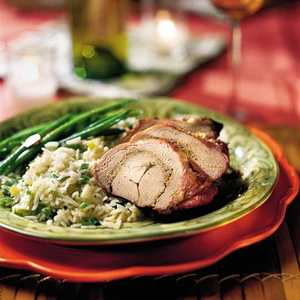 Grilled Pork Tenderloins With Rosemary PestoRecipe