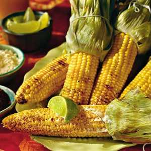 Grilled Corn in the Style of OaxacaRecipe